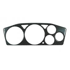 2003-2006 Mitsubishi Lancer Evolution Evo 8/9 Real Black Carbon Fiber Gauge Instrument Bezel