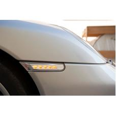 1997-2004 Porsche Boxster 986 DEPO LED Clear or Smoke Front Bumper Side Marker Light