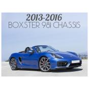 2013-2016 PORSCHE BOXSTER 981 CHASSIS
