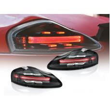 1997-2004 Porsche Boxster 986 Chassis USR 718 Style Black/Red or Smoke/Clear LED Light Bar Tail Light