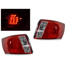 2008-2011 Subaru Impreza 4D / 2008-2014 Subaru WRX / STi 4D DEPO Red/Clear or Black/Smoke Rear L.E.D Tail Light