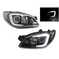 "2006-2007 Subaru Impreza / Impreza WRX ""C"" LED Halogen Model Projector Headlight with Clear Corner Reflector (USR Special Edition)"