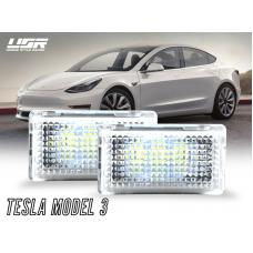 2017-2019 Tesla Model 3 USR Edition Brightnest 948 Lux Plug & Play LED Interior Light Lamp Kit