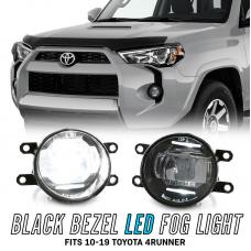 2010-2020 Toyota 4Runner Black 2in1 Projector CREE LED Fog Light Assembly + DRL