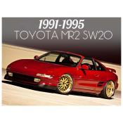 1991-1995 TOYOTA MR2 / MR-2 SW20