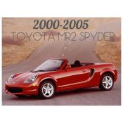 2000-2005 TOYOTA MR2 SPYDER