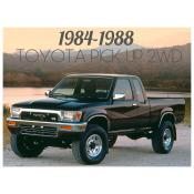 1984-1988 TOYOTA PICK UP 2WD