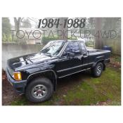 1984-1988 TOYOTA PICK UP 4WD