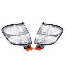 2001-2004 Toyota Sequoia / 2000-2004 Toyota Tundra Double Cab Only DEPO Clear Lens Corner Signal Lights
