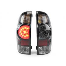 2005-2015 Toyota Tacoma DEPO Facelift Style LED Rear Black or Chrome Tail Lights