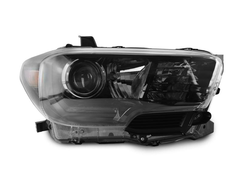 2016 2018 Toyota Tacoma Led Drl Trd Pro Style Depo Black Projector Headlights For With