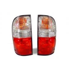 2000-2004 Toyota Tacoma DEPO Red/Clear or Red/Smoke Rear Tail Lights