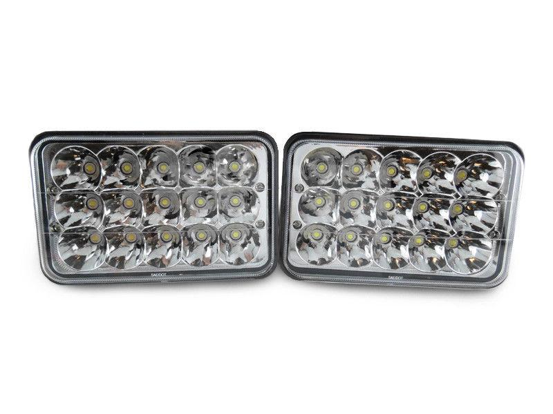 Sealed Beam Conversion Headlight - Full LED - 4x6 x4 + Wire ... on