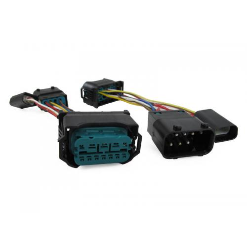 Wiring Harness Adapter 04-07 BMW E60 E61 5 Series TO USE ON 08-10 LCI OEM  Headlights - Illuminate Your Presence :: Unique Style RacingUnique Style Racing