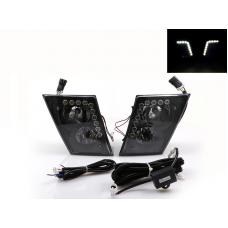 2003-2015 Volvo VN / VNL Series 630 670 780 730 Truck x20 DRL LED Strip Left + Right Replacement Fog Lights Set Made by DEPO