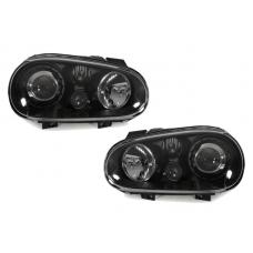 1999-2005 VW Golf / GTi Mk. 4 DEPO Projector Glass Lens Euro Headlight With Optional Xenon HID