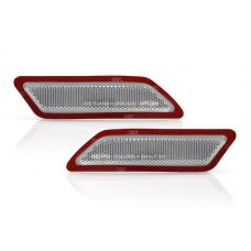 2012-2015 BMW 3 Series F30 / F31 DEPO Clear or Smoke Front Bumper Reflector Light