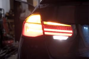 New F30 BMW LED Reverse Light Upgrade for DEPO LCI Tail Lights